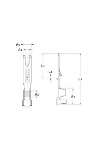 FORK TERMINALS FOR INAR-RS MATE