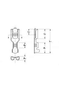 INAR-LIF TYPE (A) STRAIGHT RECEPTACLES 4,8