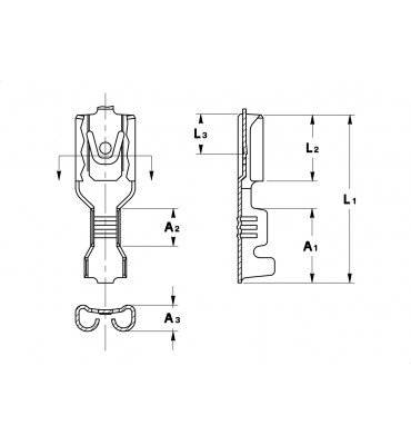 INAR-LIF STRAIGHT RECEPTACLES 4,8