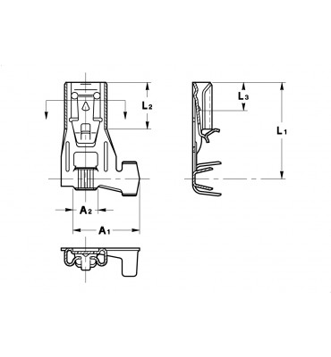 INAR-SAFETY TYPE (A) FLAG TYPE RECEPTACLES 4,8