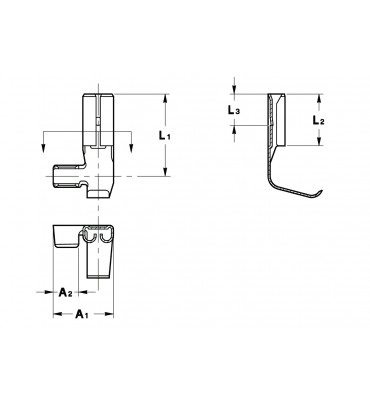 FLAG TYPE RECEPTACLES 2,8