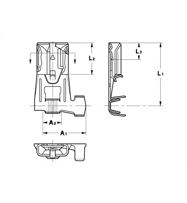 INAR-SAFETY TYPE (A) FLAG TYPE RECEPTACLES 6,3
