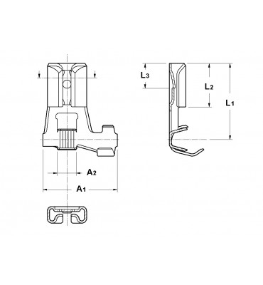 INAR-LIF FLAG TYPE RECEPTACLES 4,8
