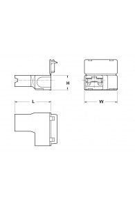 INAR-LIF SLEEVES FOR FLAG TYPE RECEPTACLES 4,8