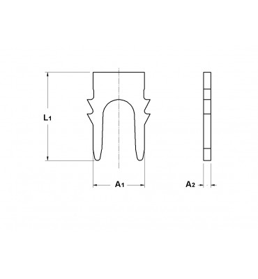 INAR-RS CABLE FASTENING TERMINALS
