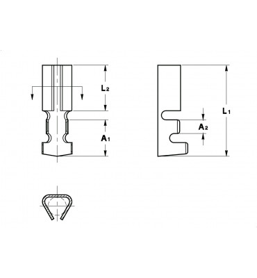 TERMINALS FOR PINS