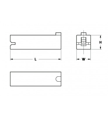 SLEEVES FOR STRAIGHT RECEPTACLES 2,8 FRONTAL INSERTION