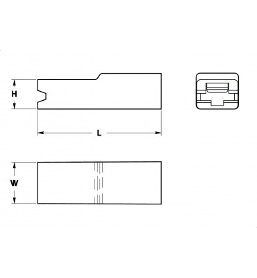 SLEEVES FOR STRAIGHT RECEPTACLES 4,8 FRONTAL INSERTION